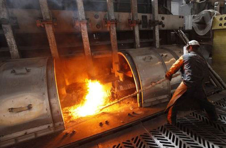 E-Jay Thermo's primary smelting process produces pure aluminum metal